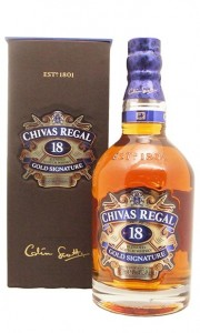 Chivas Regal 18 Year Gold Signature Scotch Whisky